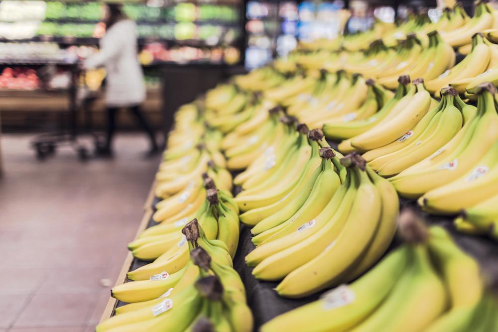 Fruit stand at supermarket